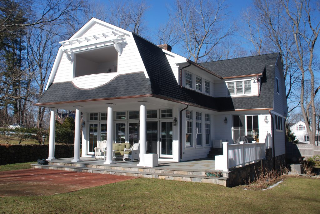 Dutch colonial addition alteration ridgefield ct for Colonial house addition