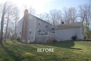 Colonial before addition in NY