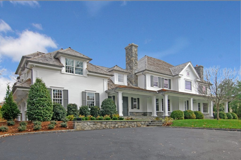 Colonial spec house design in Greenwich CT