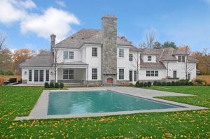Colonial spec house with pool in CT