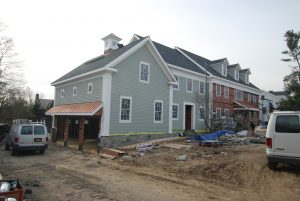 front construction progress photo