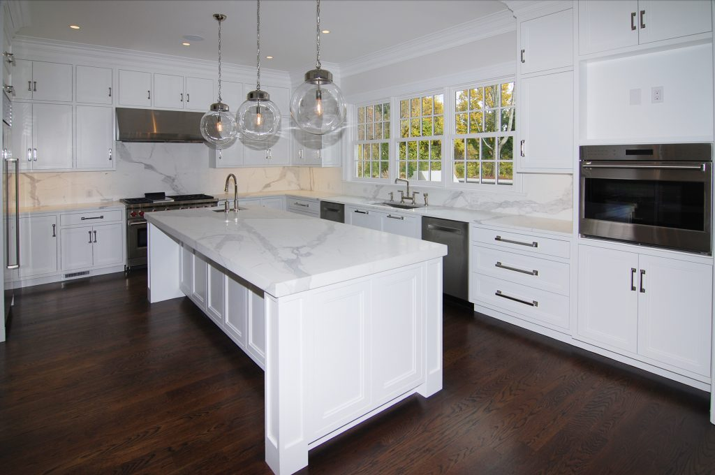 kitchen in colonial spec house