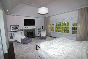 Greenwich Georgian Colonial home bedroom