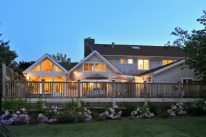 Deck colonial addition alteration beach house