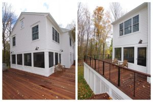 Pound Ridge NY home exterior after addition