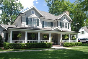 custom colonial exterior in rye ny