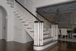 front stairs wood floors greenwich ct