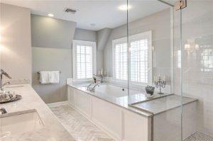 Bathroom in Rye NY tudor addition