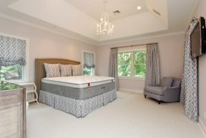 Bedroom in Rye NY Colonial home