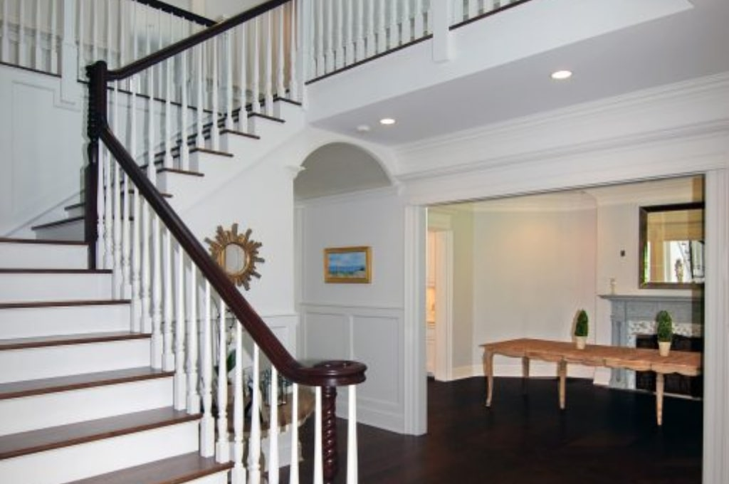 Classic interior of Connecticut home by DeMotte Architects