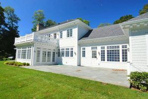 Custom home design in Greenwich CT by DeMotte Architects