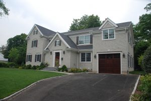 rye ny colonial home with garage