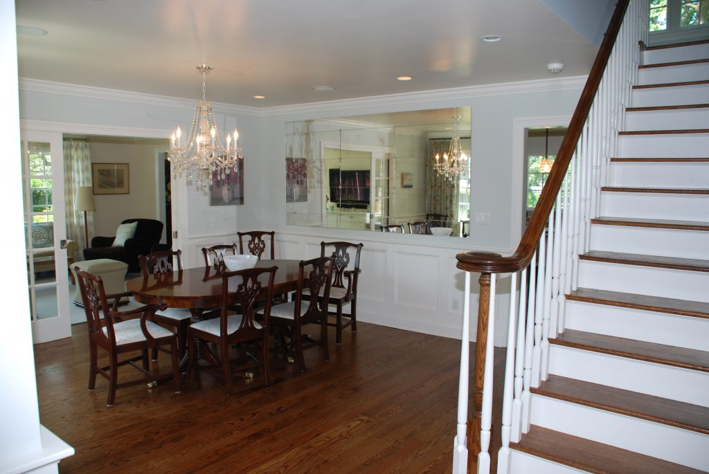 rye ny colonial addition dining room