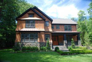 rye ny shingle style home architect design by demotte architects