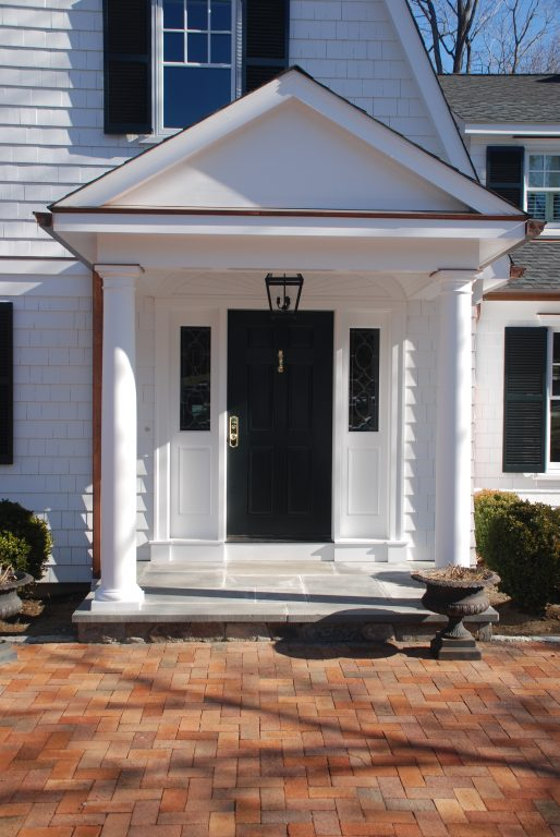 ridgefield ct dutch colonial entry