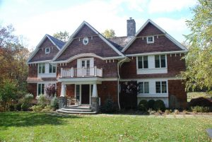 shingle style addition in pound ridge ny