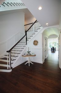 colonial home foyer westport ct