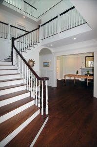 colonial home stairs westport ct
