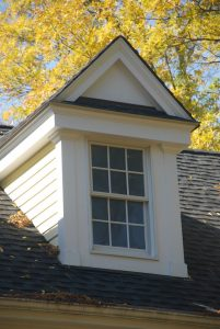 window of wilton ct custom home by demotte architects
