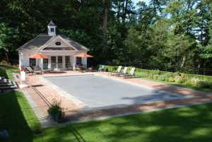 pool house in mt kisco ny designed by demotte architects