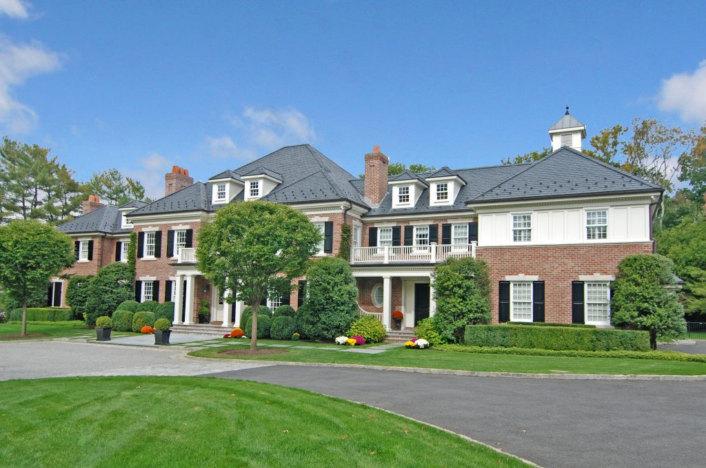 greenwich ct colonial home