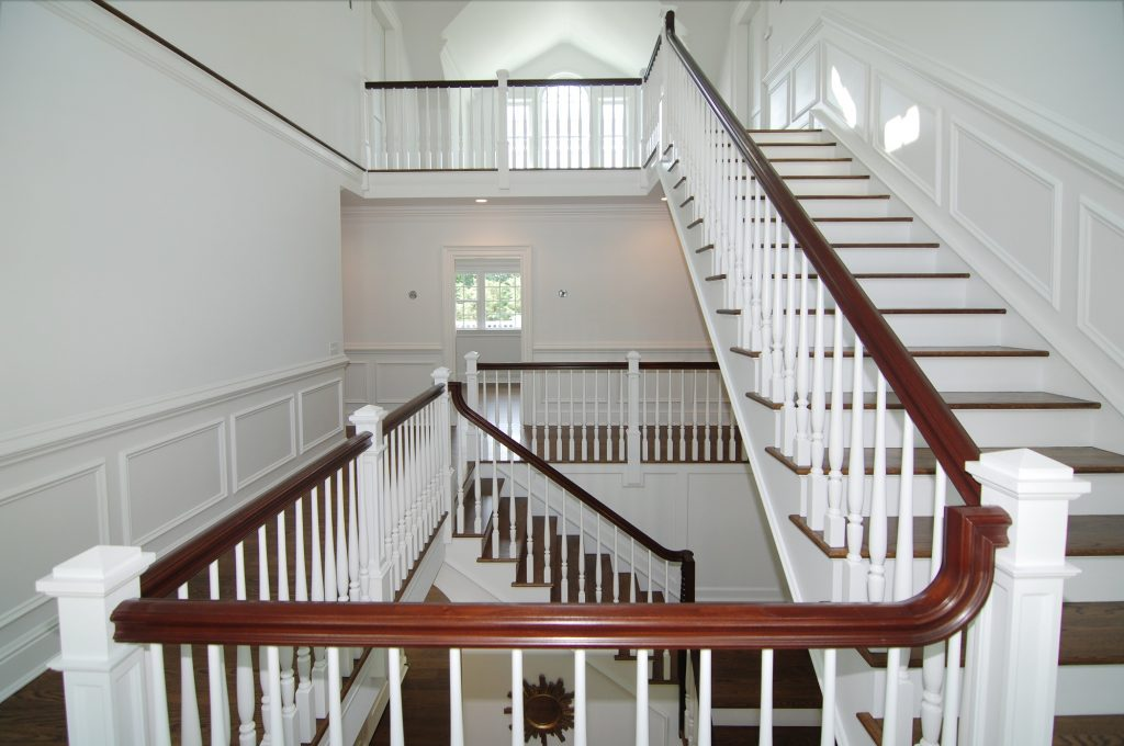 colonial home stairs westport ct