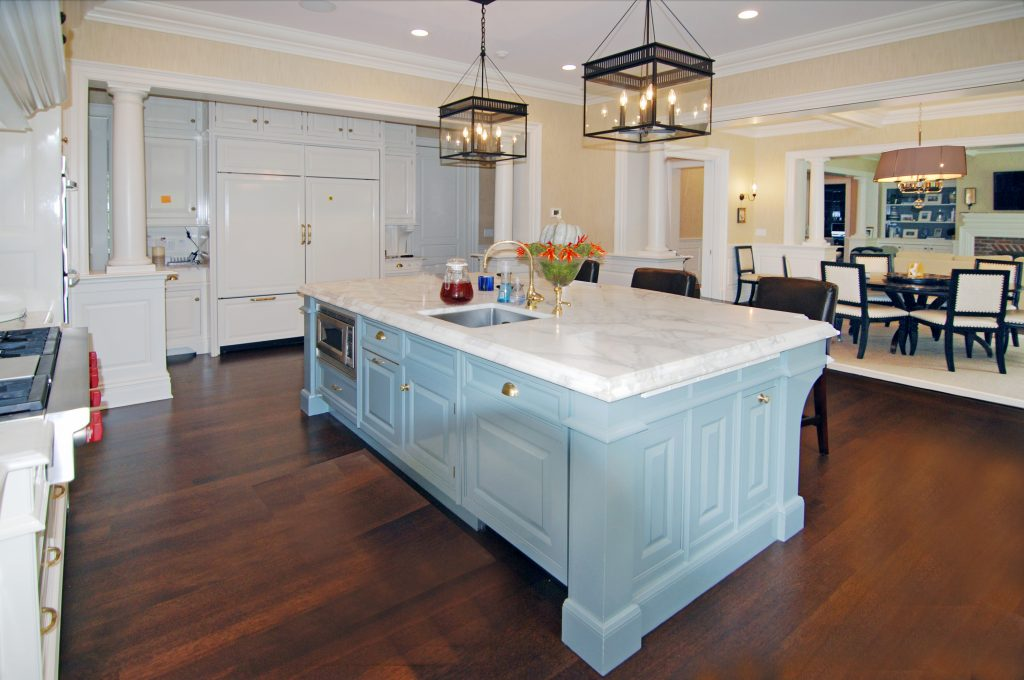 colonial kitchen by demotte architects