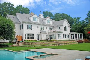 colonial home backyard westport ct