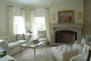 Georgian Colonial home classic interior in Connecticut
