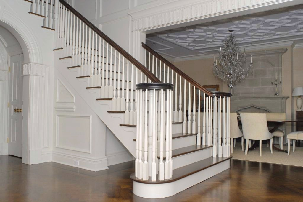 Georgian Colonial home interior in Greenwich CT