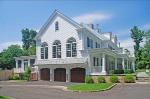 Grand Colonial with 3 car garage in Westport CT