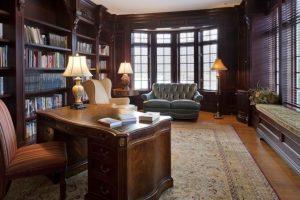 french country home library katonah ny