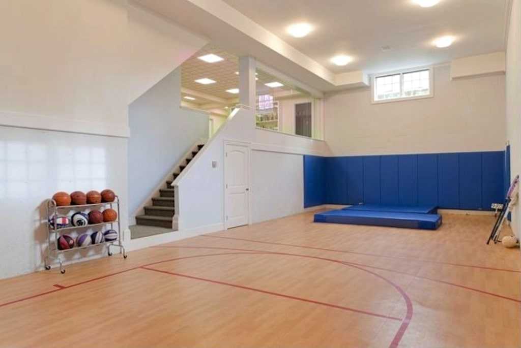 Katonah NY custom home with gym