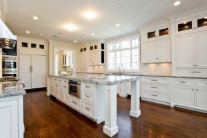 Kitchen in rye ny home