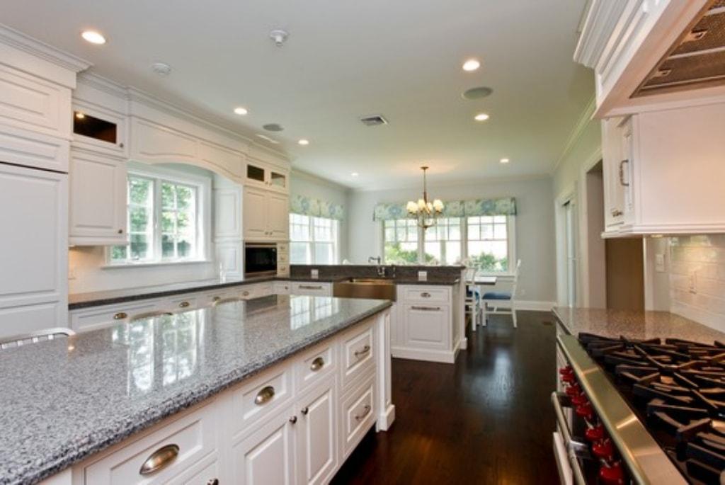Kitchen in custom Colonial in Rye NY