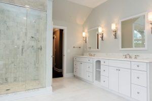 Master Bathroom in rye ny home
