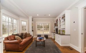 New Canaan CT interior remodel by DeMotte Architects