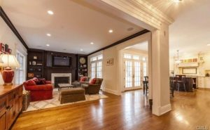 New Canaan CT kitchen and family room interior remodel