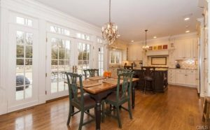 New Canaan CT remodel breakfast nook