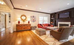 New Canaan CT remodel family room