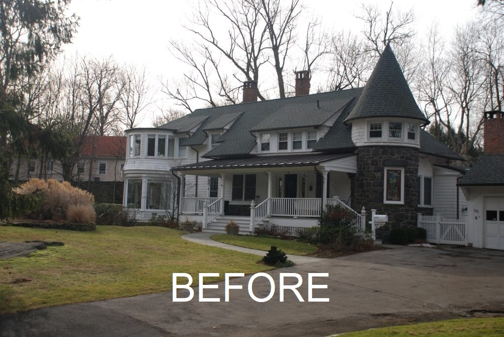 Queen Anne Victorian before remodel