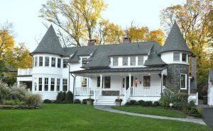 Queen Anne Victorian remodel addition by DeMotte Architects in CT