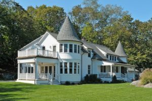 Queen Anne Victorian remodel addition by DeMotte Architects in Greenwich CT