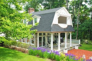 Ridgefield CT Dutch Colonial addition by DeMotte Architects