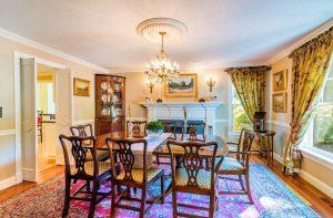 Ridgefield CT Dutch Colonial dining room