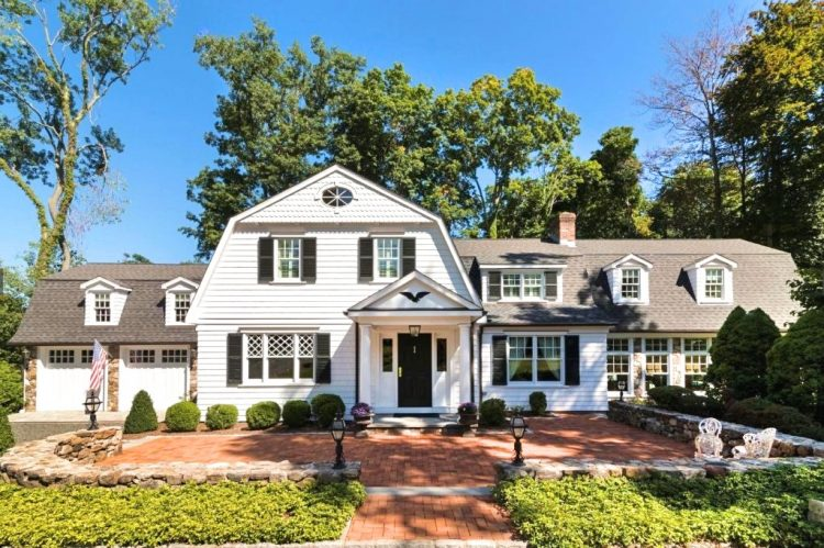 Ridgefield CT home remodel Dutch Colonial by DeMotte Architects