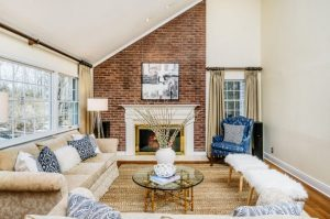 Rye NY addition by DeMotte Architects family room shown
