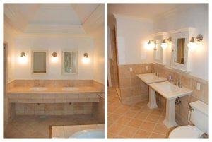 Rye NY home bathrooms