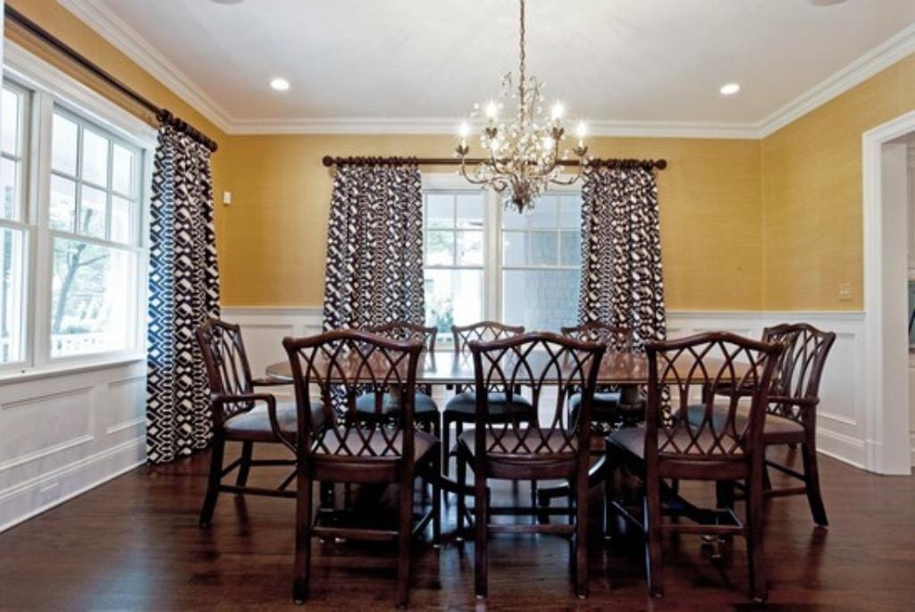 Rye NY home dining room