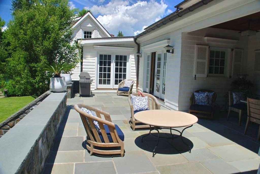 Rye NY remodel with terrace by DeMotte Architects